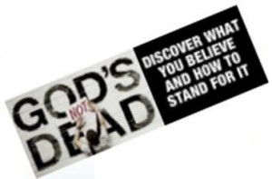 God is not dead ticket