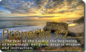Proverbs 1-7