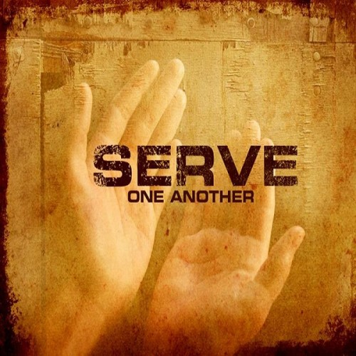 "serve one another The apostle paul said: "" by love serve one another for all the law is fulfilled in one word, even in this thou shalt love thy neighbour as thyself""."
