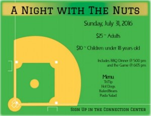 Night at the nuts